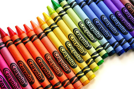 Wavy Crayon Rainbow by MandiDawsImages