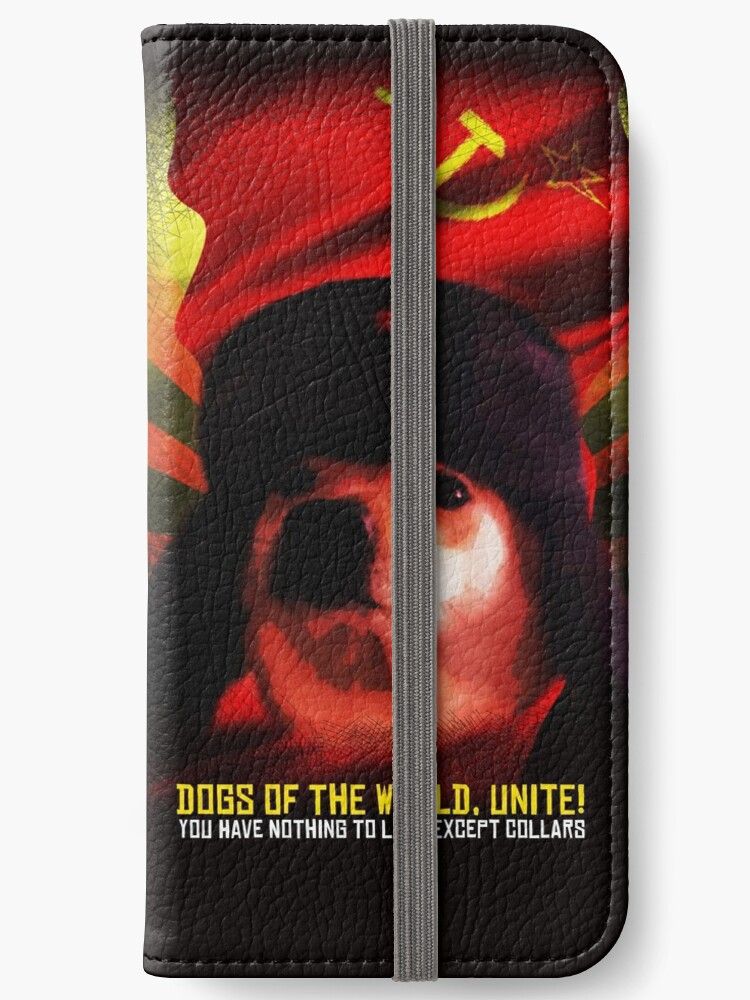 Communist Comrade Doggo Meme Funny Doge Dog Jimbo With Russia Sickle