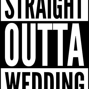 Straight Outta Wedding Berlin Germany Neighborhood Black Design by ramiro