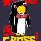 Mr Flibble is very Cross by McPod