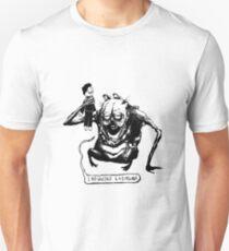 Evil Lasagna 1 Unisex T-Shirt