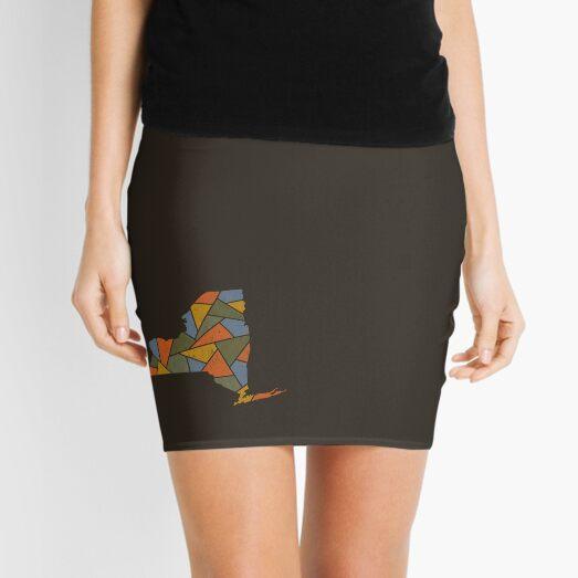 New York Mosaic - Adirondack Autumn Mini Skirt