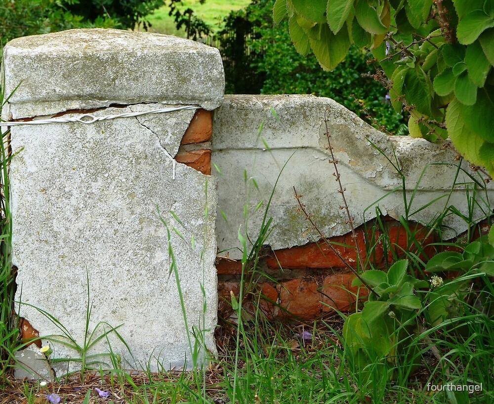 Wall of the farm by fourthangel