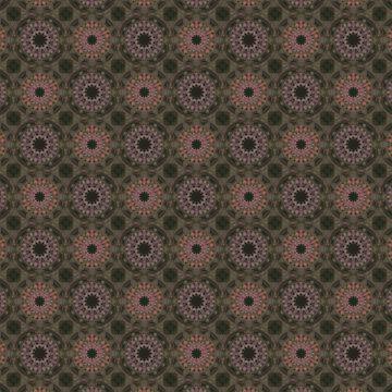 Oriental brown pattern. by marinaklykva