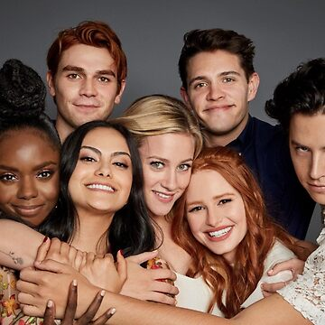 Riverdale Cast Jughead Betty Archie Veronica Cheryl Kevin Josie by skr0201