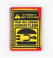HUMAN FLESH Spiral Notebook