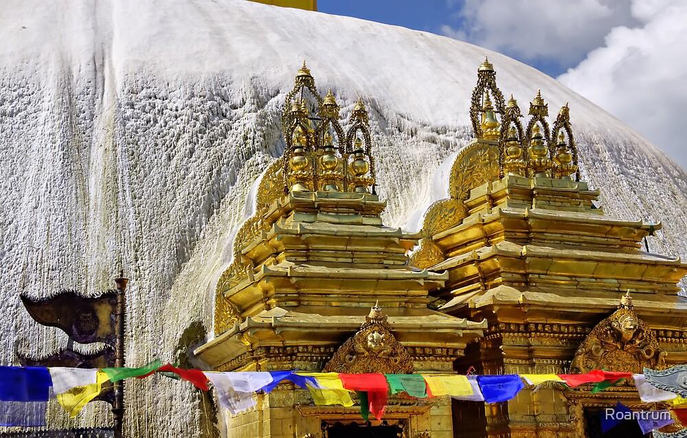 At Swayambhunath by Roantrum