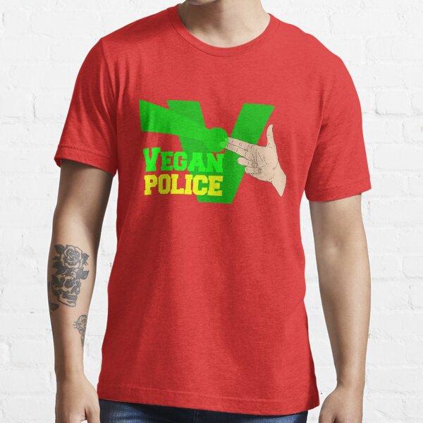 Vegan Police Essential T-Shirt