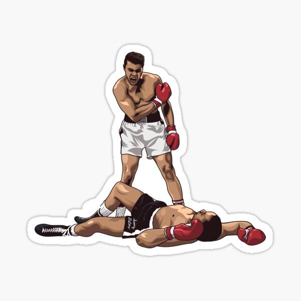 Muhammad Ali contre Sonny Liston Sticker