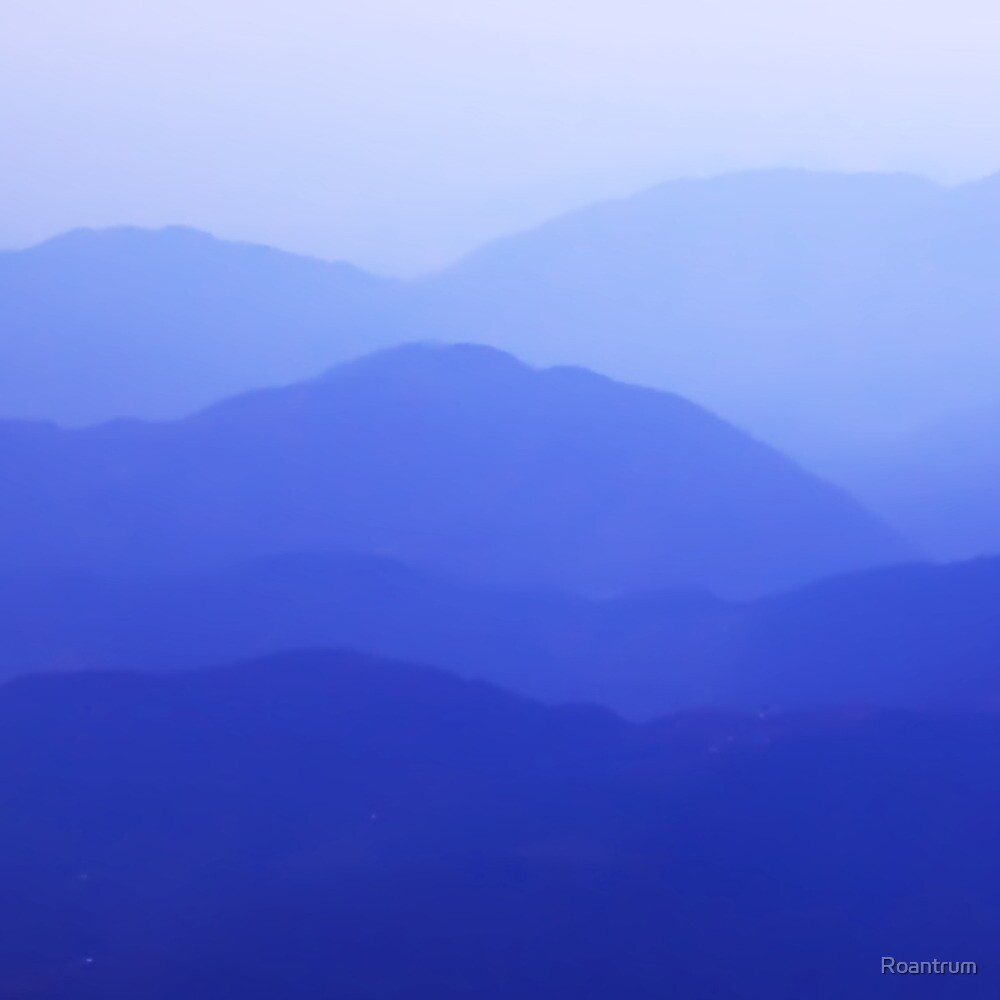 Blue Himalayas by Roantrum