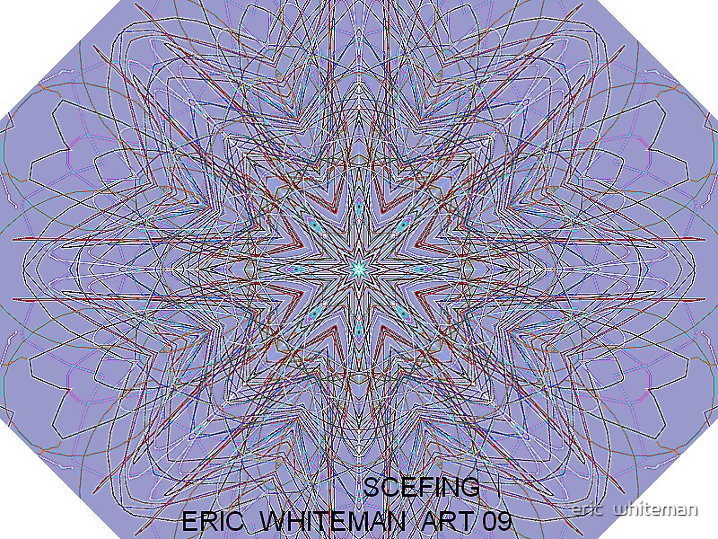 ( SCEFING 1 ) ERIC WHITEMAN  ART   by eric  whiteman