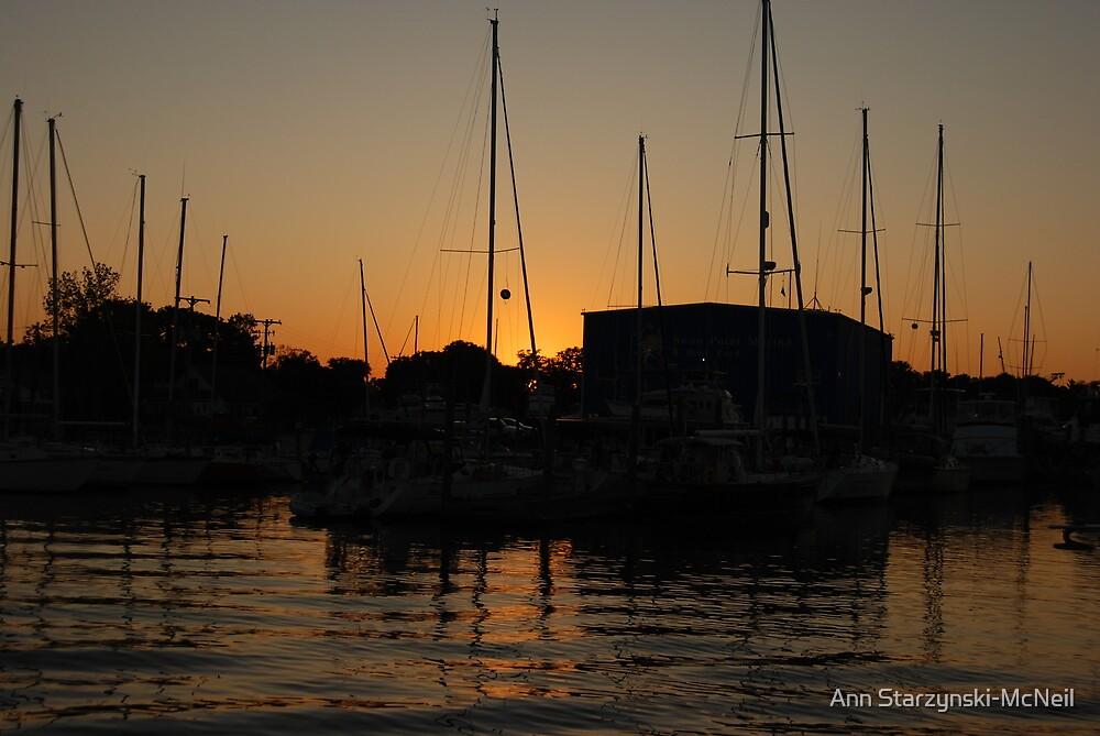 Dockside Glow by Ann Starzynski-McNeil