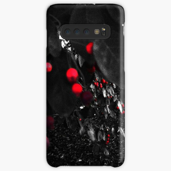 Red Berry Tree Nature Scene Samsung Galaxy Snap Case