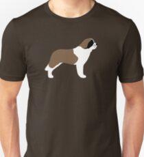 Saint Bernard Silhouette(s) Unisex T-Shirt