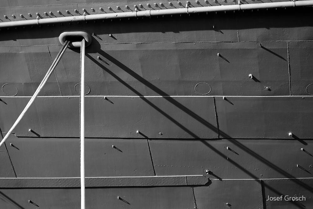 Boat Shadows by Josef Grosch
