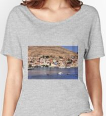 Nimborio Waterfront Women's Relaxed Fit T-Shirt