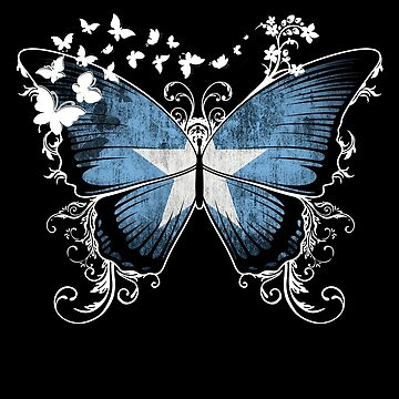 Somalia Flag Butterfly Somali National Flag DNA Heritage Roots Gift  by nikolayjs