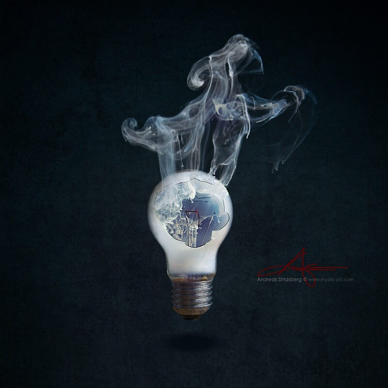 Tribute to the traditional bulb II by Andreas Stridsberg