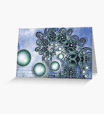 WaterSpiral Greeting Card