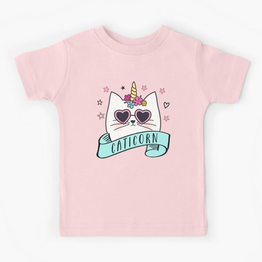 Magical Caticorn Kids T-Shirt