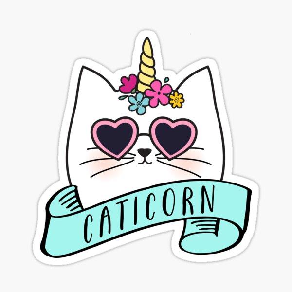 Magical Caticorn Sticker