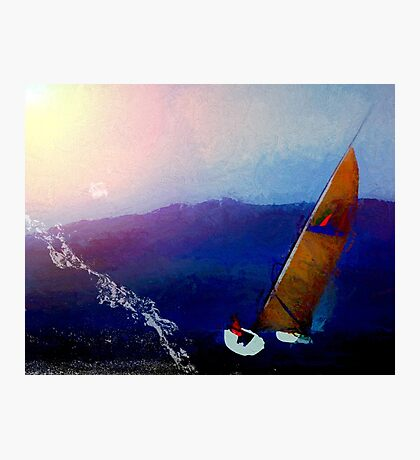 Boating Lessons Photographic Print