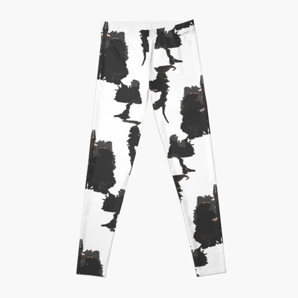ink blot  Leggings