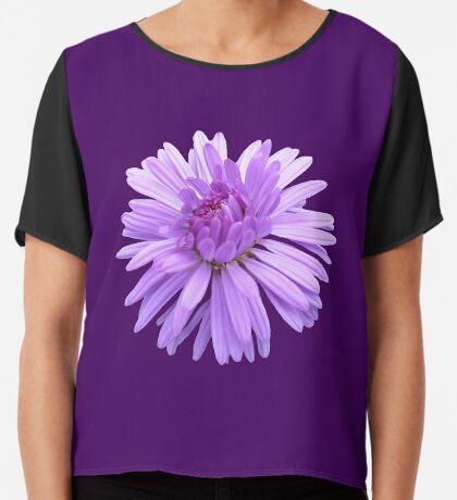 zauberhafte violette Blume, Blüte, Natur, lila,  Chiffontop