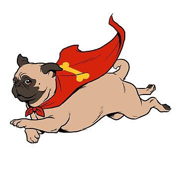 Super Pug by deimos-remus