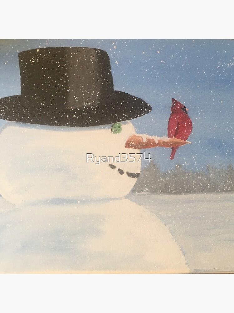 Eisiger Schneemann von Ryand3574