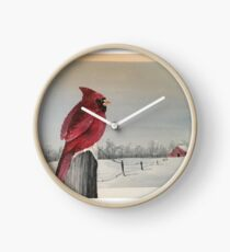 A loved ones visit Clock