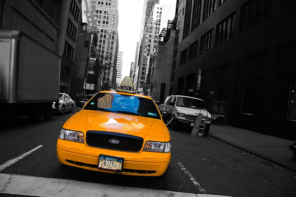 New York Taxi by Luke Hayden