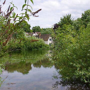 The Millpond, Bishopstone by lezvee