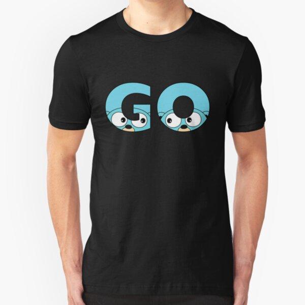 Go Gopher Slim Fit T-Shirt