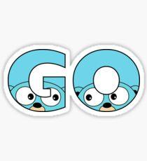 Go Gopher Sticker