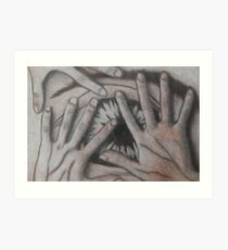 Fearful Art Print