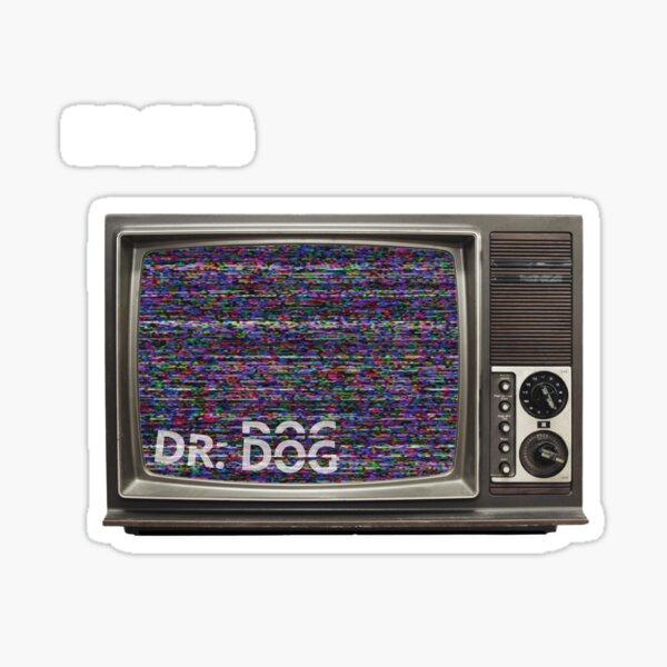 Dr. Dog Logo Sticker