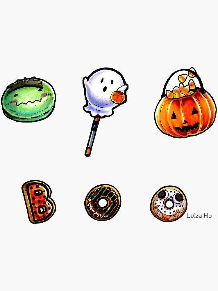 Halloween Treats - Mini Set #1 by teapotsandhats