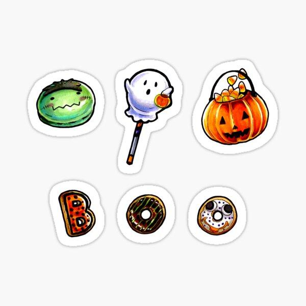 Halloween Treats - Mini Set #1 Sticker