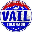 Vail Colorado Mountain Skiing Ski Snowboarding by MyHandmadeSigns