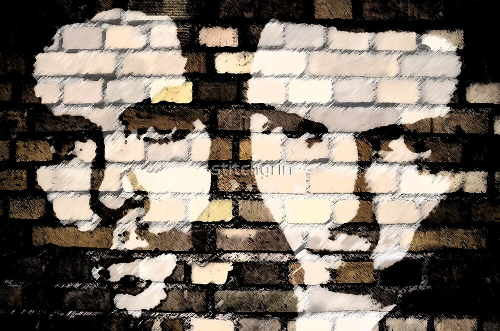 Brick Wall of Brothers by stitchgrin