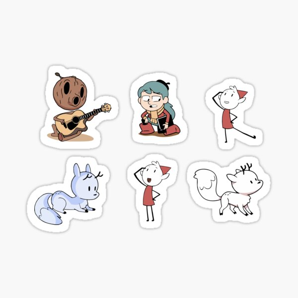 Hilda Character Stickers Sticker