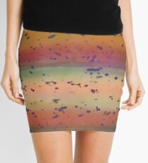 Speckled Rainbow Trout Abstract Mini Skirt
