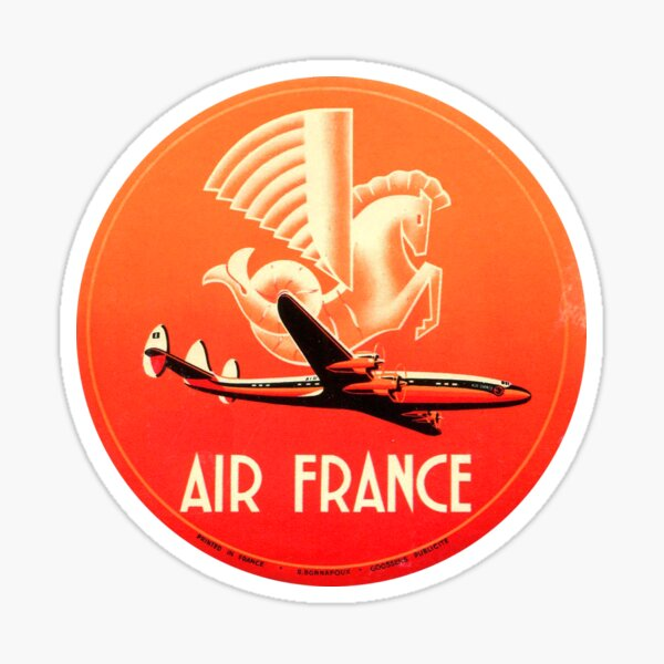 Air France - Rouge Sticker