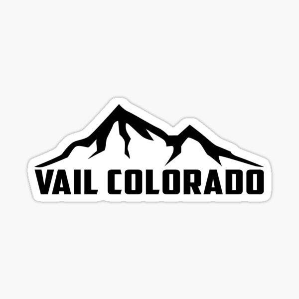 Vail Colorado Skiing Ski Patrol Mountain Snowboarding Sticker
