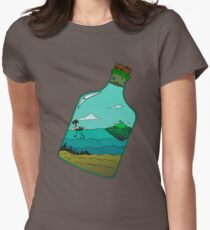 Island in a Bottle Women's Fitted T-Shirt