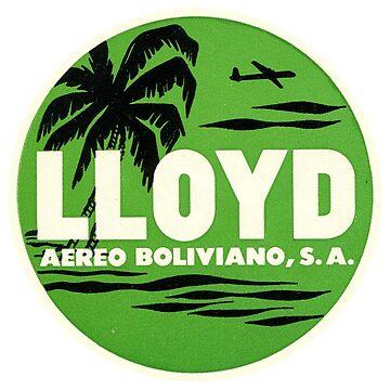 Lloyd Aereo Boliviano by Bloxworth