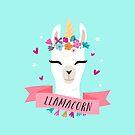 Llamacorn | Magical Llama Unicorn by redwoodandvine