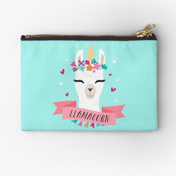 Llamacorn | Magical Llama Unicorn Zipper Pouch