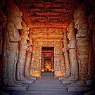 Abu Simbel Great Temple by Nigel Fletcher-Jones